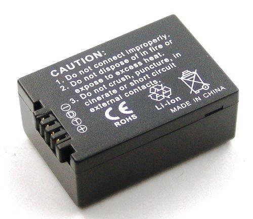 Akku kompatibel mit Panasonic Lumix DMC-FZ100, DMC-FZ100GK, DMC-FZ100K, DMC-FZ150, DMC-FZ150GK, DMC-FZ150K, DMC-FZ40, DMC-FZ40GK, DMC-FZ40K, DMC-FZ45, DMC-FZ47, DMC-FZ47GK, DMC-FZ47K, DMC-FZ48 (Lumix Dmc-fz100 Panasonic)