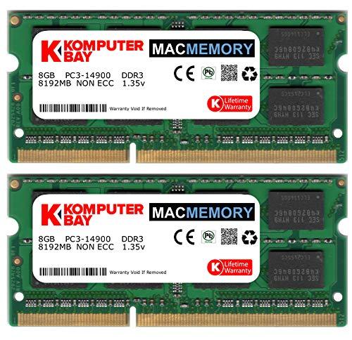 Komputerbay 16GB Dual Channel Kit 2x 8GB 204pin DDR3-1866