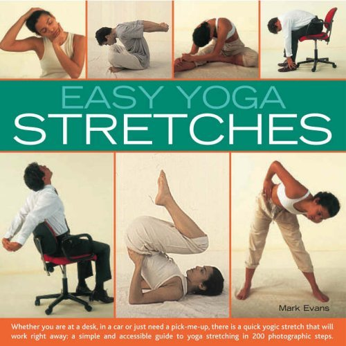 Easy Yoga Stretches: Instant Energy and Relaxation with Easy-to-follow Yoga Stretching Techniques by Mark Evans (Illustrated, 28 Jul 2006) Paperback