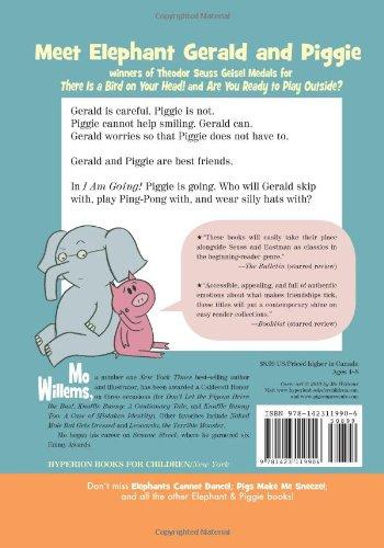 I Am Going! (Elephant and Piggie)