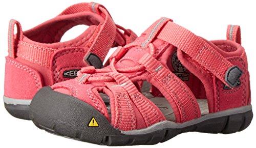 Keen Unisex-Kinder Seacamp II Cnx Sandalen, Pink (Honeysuckle/Neutral Gra), 29 EU -