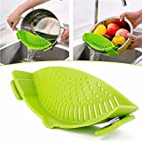 Aeoss Silicone Strainer Multifunctional Funnel Pot Pan Baking Basin Wash Rice Strainer Kitchen Accessories Cooking Tools Gadgets