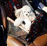 MR.MO Hundesitzbezug,Vordersitz,kleine Hundetasche,Haustier-Auto-Matte Und Bett Verdicken Oxford Tuch Und Baumwolle Wasserdicht Anti-schmutzig,40 * 32 * 25 cm