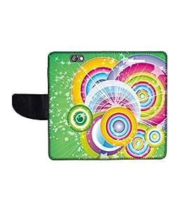 KolorEdge Printed Flip Cover For HTC One A9 Multicolor - (1478-50KeMLogo12162HTCA9)