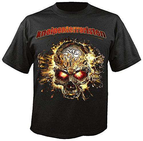 kneipenterroristen-schneller-lauter-harter-t-shirt-grosse-xl-incl-unreleased-promo-cd
