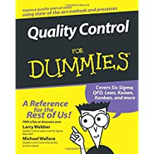 Quality Control for Dummies (For Dummies Series)