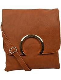 Sling Bags for Girls (Bronze, 577)