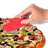 Pizza cutter mano a forma di