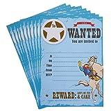 Neviti 674933Wild West Cowboys Einladung