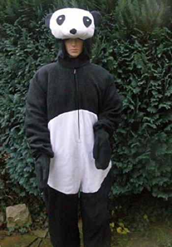 Kostüm Schnee Panda (Panda Bär Faschingskostüm Junggesellenabschied Fastnacht Kostüm Karnevalskostüm Pandabär)