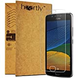Heartly 2.5D 0.3mm Pro 9H Hardness Toughened Tempered Glass Screen Protector For Motorola Moto G5