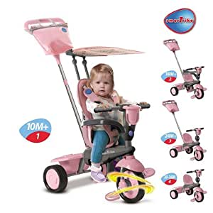 Smart Trike Spirit Touch Steering 4 in 1 PINK