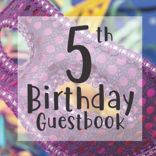 Masquerade Mask Ideen - 5th Birthday Guestbook: Carnival Masquerade Mask