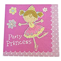 20 Princess Party Paper Napkins