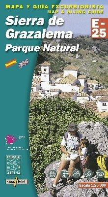Editorial Alpina Spanien Wanderkarte: Sierra de Grazalema, 1:25.000, Spanien Topographische Wanderkarte, Trekkingkarte, Radkarte, MTB