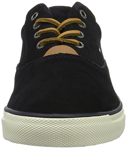 Tommy Hilfiger W2285ilkes 2b, Sneakers Basses Homme Bleu (Midnight 403)