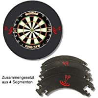 Dart Catchring Auffangring Surround schwarz von Roleo Darts
