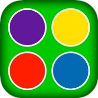 Lernen Farben - einfach Kleinkind-Spiel für Kinder Ausbildung mit Tieren, Pflanzen und Wetterereignisse