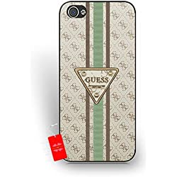Lujo iPhone 5/5S caso Guess Brand Logo, iphone 5/5S para mujer cubierta, iPhone 5/5S logotipo de caso Durable, diseño de regalo