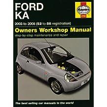 Ford Ka Service And Repair Manual  Service Repair Manuals