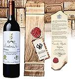 Weingeschenkset Baron Philippe de Rotschild 'Edition Vintage' Mouton Cadet Bordeaux Retro in edler Vintage-Holzkiste mit Siegelprägung Luxusgeschenk inkl. Urkunde zur Familienhistorie   Für Weinkenner ein Geburtstagsgeschenk