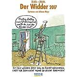 Widder 2017: Sternzeichen-Cartoonkalender