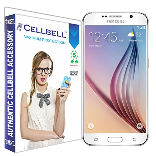 Cellbell Tempered Glass Screen Protector For Samsung Galaxy S6