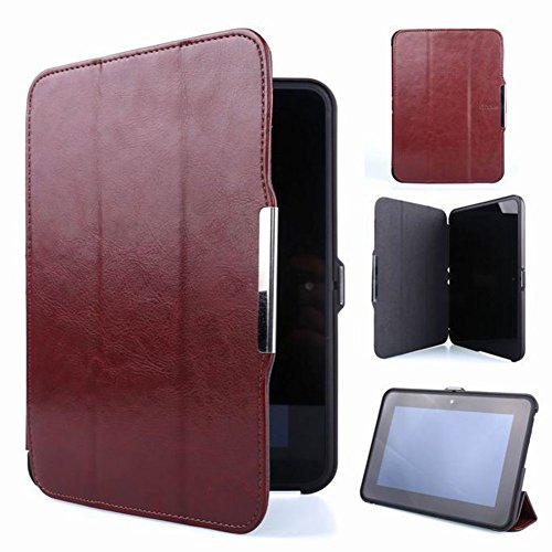 Meijunter Brown Halter Leder Protector Pouch Fall Decken Tablette-Kasten Cover Case Für 7