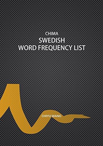 Chima Swedish Word Frequency List (Swedish Edition) por Chiyu Wang