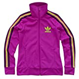 ADIDAS ORIGINALS'EUROPA TRACK TOP' DAMEN TRAININGSJACKE JACKE LILA [32-38], Größe:36