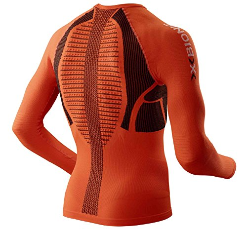 X-Bionic Erwachsene Funktionsbekleidung Running Man the Trick OW Shirt LG SL Orange Sunshine/Black