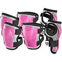 Stiga niños S P Protection Juego Comfort JR Knee and Elbow, Primavera/Verano, Infantil, Color Rosa, tamaño Medium