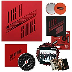 ATEEZ 2nd Mini Album - Treasure EP.2 : Zero to One CD + Sticker + on Pack Poster + Calendar Cards + Photocards + FREE GIFT / K-POP Sealed
