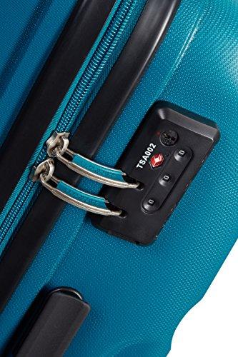 519YG0CrkeL - American Tourister Bon Air Spinner M Maletas y trolleys, 66 cm, 53 L, Azul (Azul)