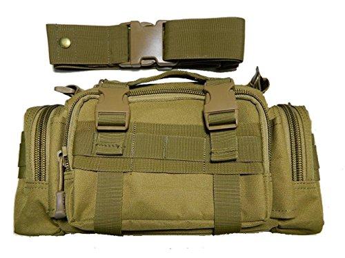CHT Herren-Tarnung Im Freien Bewegliche Schulter Umhängetasche Diebstahl Multifunktionstaschen Lässig Taktik 35 * 9 * 15cm Farbe Optional Brown