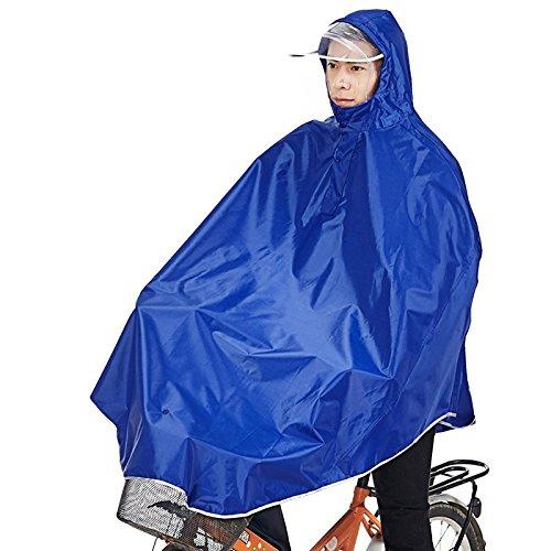 Sorliva Tourwin Regenmantel mit Kapuze, Winddicht, Blau, 1 Stück