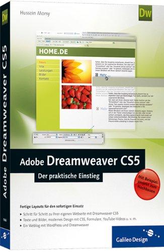 Adobe Dreamweaver CS5: Der praktische Einstieg (Galileo Design) - Partnerlink