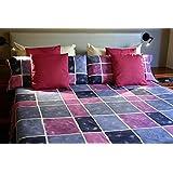 Juego de sábanas estampado BELIZE (para cama de 150x190/200)
