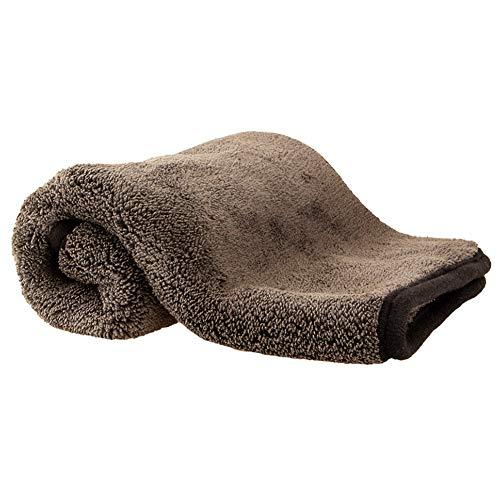 Auto in microfibra Asciugamani di livello professionale Premium microfibra Asciugamani essiccazione assorbita auto lucidatura Ceretta pulizia Detailing panno 1pc nero