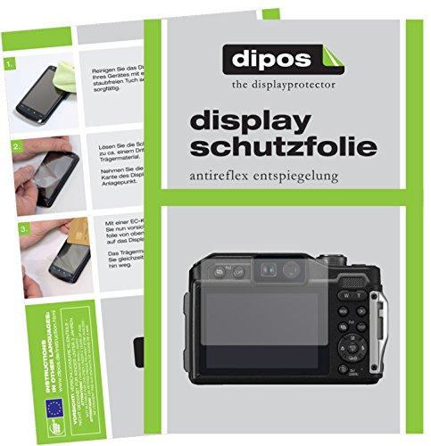 dipos I 6X Schutzfolie matt passend für Panasonic Lumix DC-FT7 Folie Displayschutzfolie