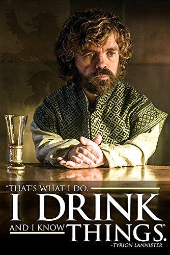 Pyramid International Tyrion-i Bebida y Sé Cosas Juego de Tronos Pós