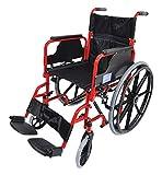 Aidapt VA167RED Deluxe-Rollstuhl