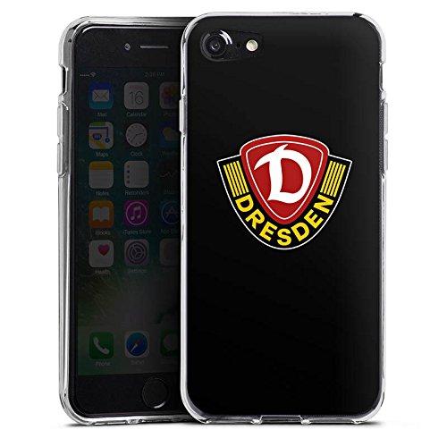 Apple iPhone X Silikon Hülle Case Schutzhülle Dynamo Dresden Fanartikel Bundesliga Silikon Case transparent