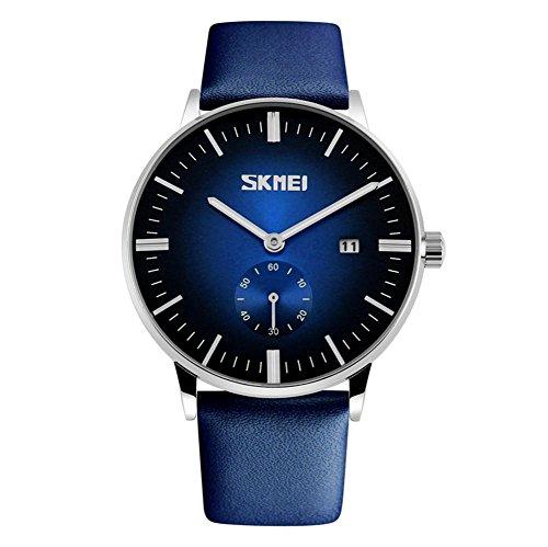 Herren-Uhr, wasserdicht, Business-Armbanduhr für Jungen, 4 ()