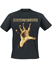 System Of A Down Hand T-shirt noir