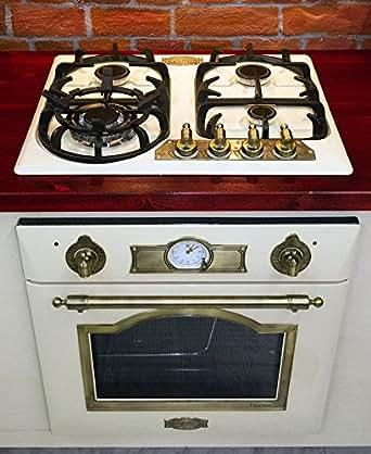 Novità Cucina a gas set AUTARK Kaiser Empire Avorio/gas