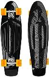 Ridge Skateboard Recycled Cruiser, Schwarz/Orange, 27 Zoll, PB