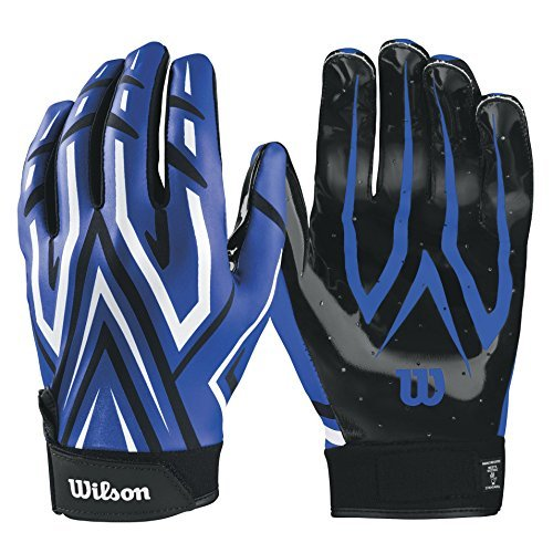 Wilson The Clutch Skill American Football Handschuhe - blau Gr. L