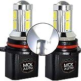 MCK Auto - Sostituzione per LED CanBus P13W Set di lampadine bianche molto chiare e senza errori compatibili con A4 B8 Q5