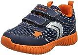 Geox Baby Jungen B Waviness Boy B Sneaker, Blau (Navy/Orange C0820), 24 EU